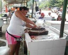 Fischmarkt am Rio Paraguay