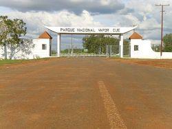 Nationalpark Vapor Cue - Einfahrt