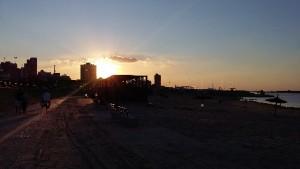 Asuncion Costañera Abenddämmerung - Paraguay Sehenswürdigkeiten Stadtrundfahrt